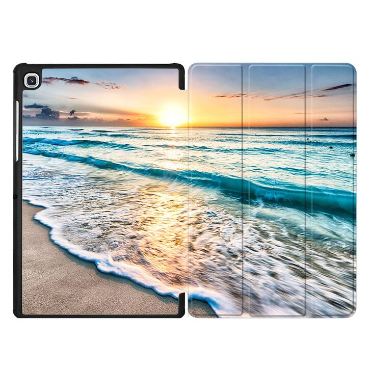 "EG MTT Hülle für Samsung Galaxy Tab S5e 10.5"" 2019 - Strand"