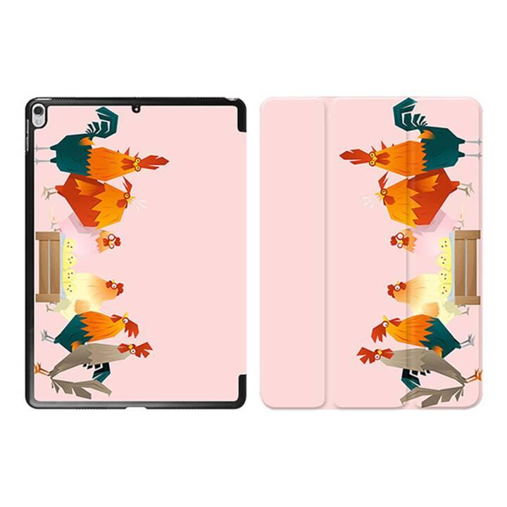 "EG iPad Cover pour Apple iPad Pro 10.5"" - poulets cartoon rose"