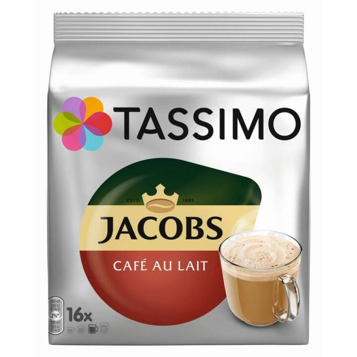 TASSIMO Capsules de Café Caffè latte Classico Jacobs (16 Pièce)