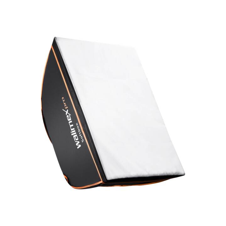 WALIMEX Pro Orange Line Softbox, 60 x 90 cm