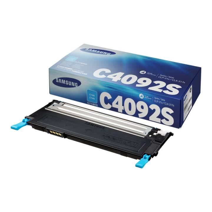 HP CLT-C4092S Cyan SU005A Cyan