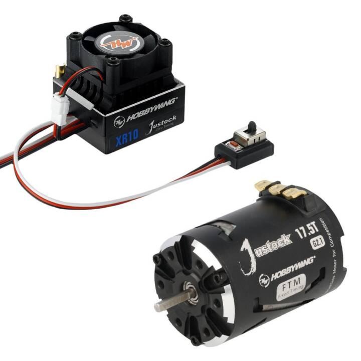 HOBBYWING TECHNOLOGY Motore COMBO-XR10-JS5-Black-G2.1