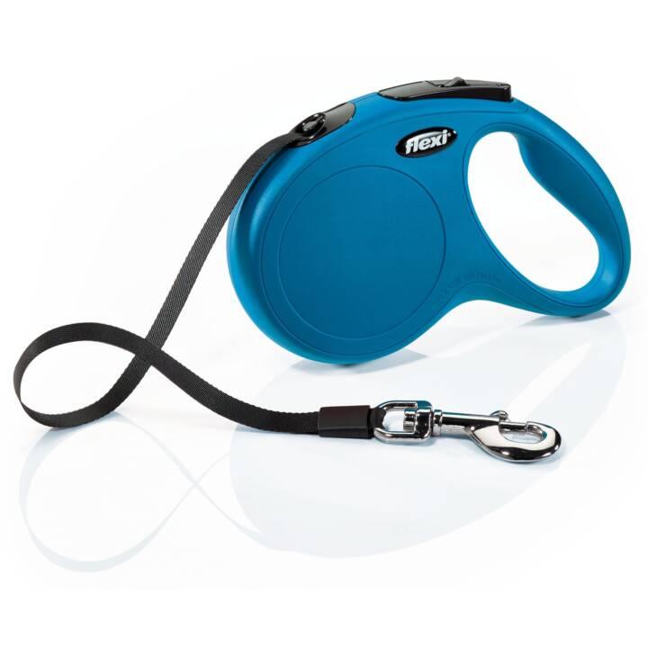 Flexi New Classic M Gurt, blau Gurt Roll