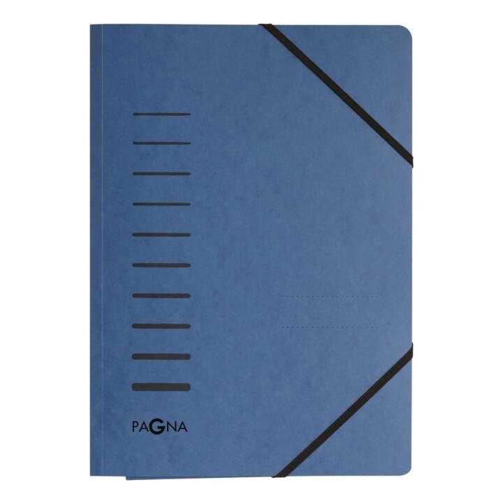 Cartella elastica PAGNA A4 Blu