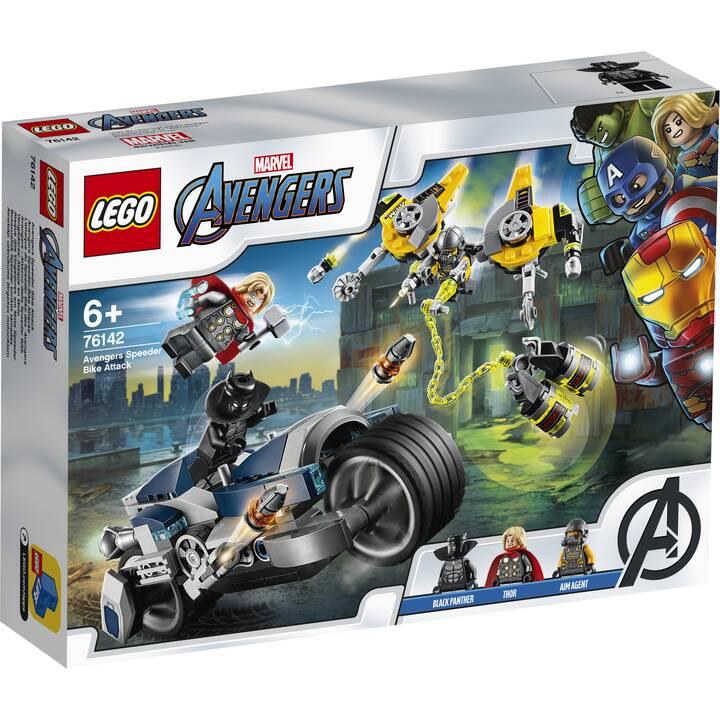 LEGO Marvel Super Heroes L'attaque du Speeder Bike des Avengers (76142)