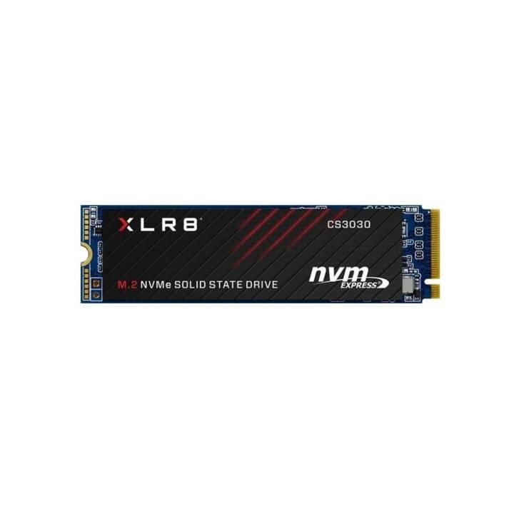 PNY XLR8 CS3030 (PCI Express, 250 GB, Schwarz)