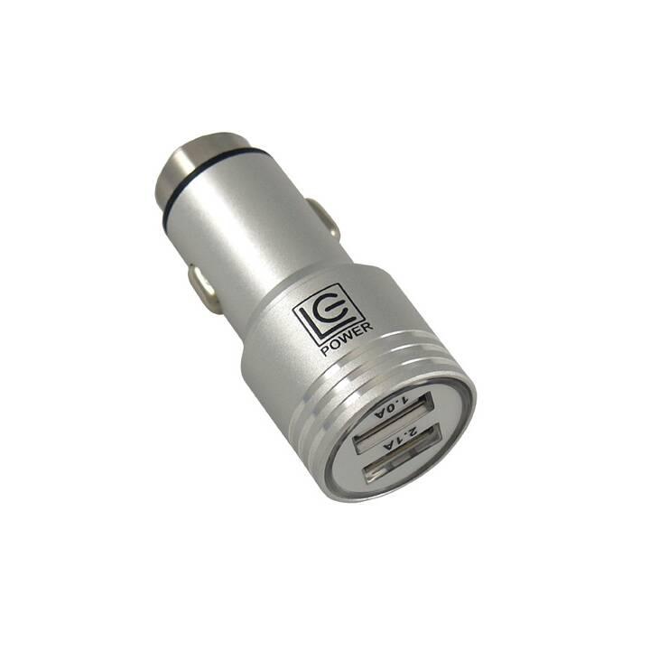 LC POWER Autoladegerät, 2.1 A/1 A