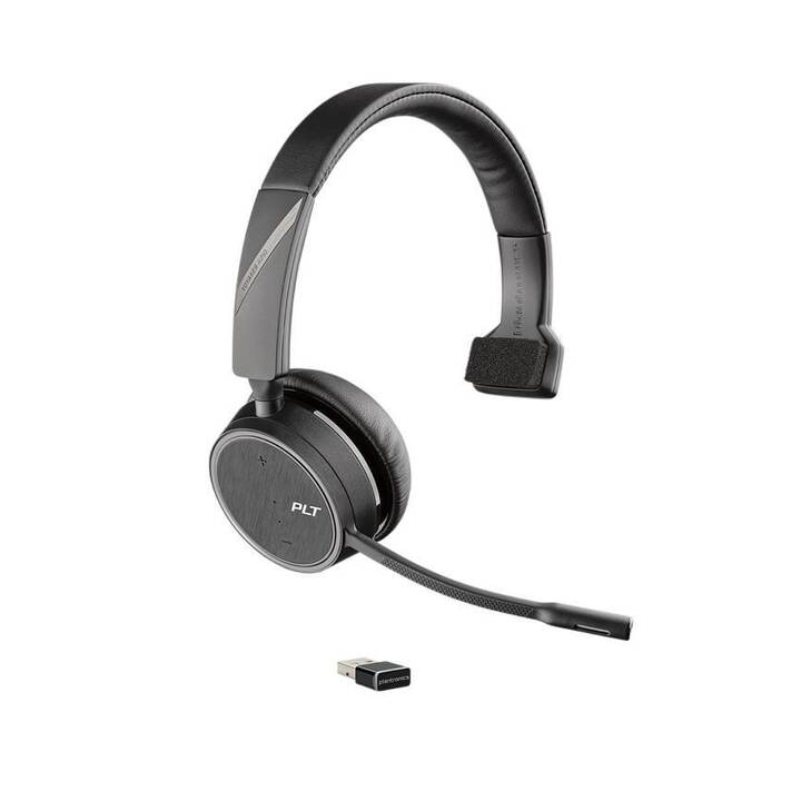 POLY Voyager 4210 (On-Ear, Bluetooth, Bluetooth 4.1, Noir)