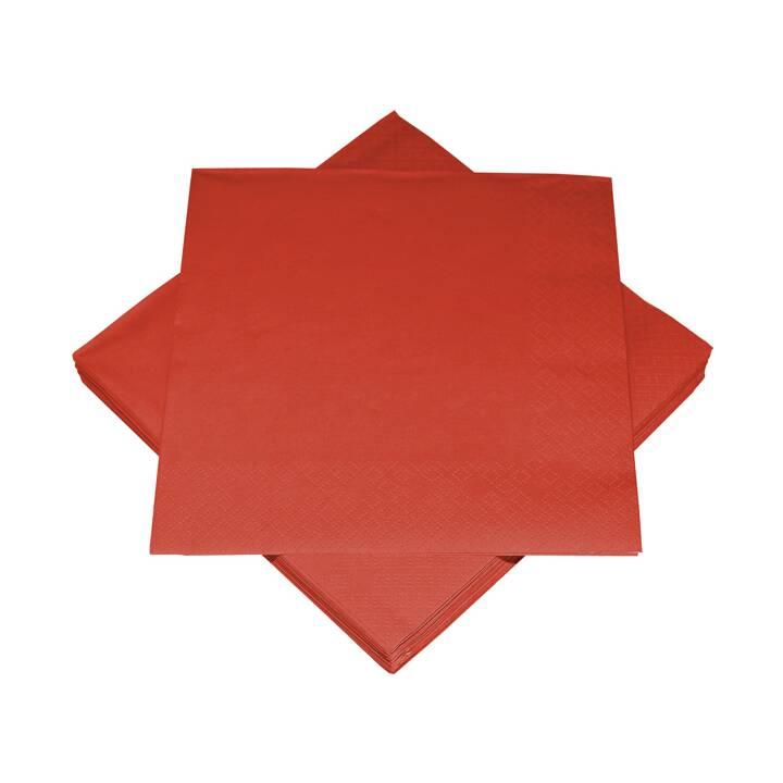 HEKU Papierserviette (33 cm x 33 cm, 20 Stück, Einfarbig)