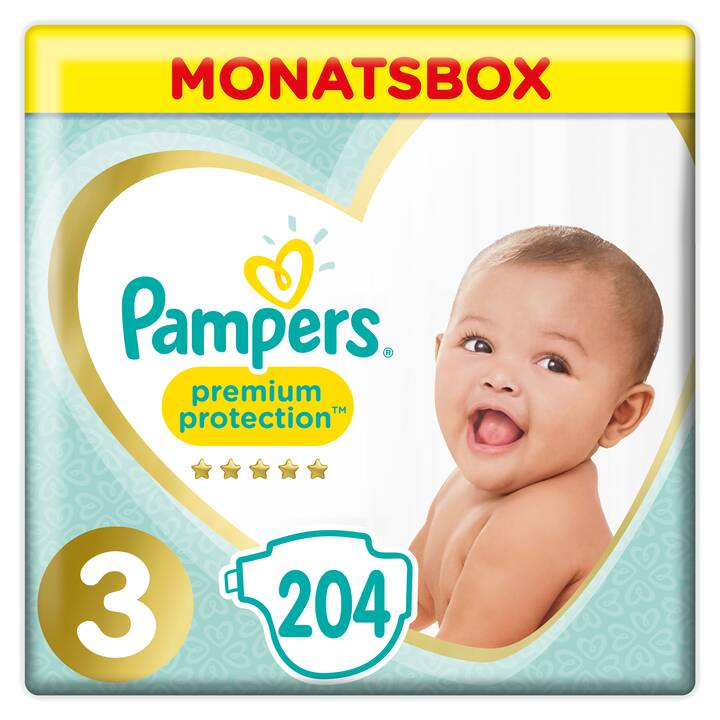 PAMPERS Premium Protection Gr. 3 Monatsbox