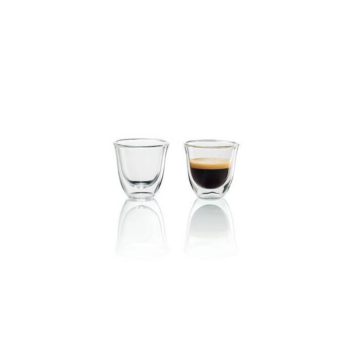 DELONGHI Espresso Gläser Set (60 ml)