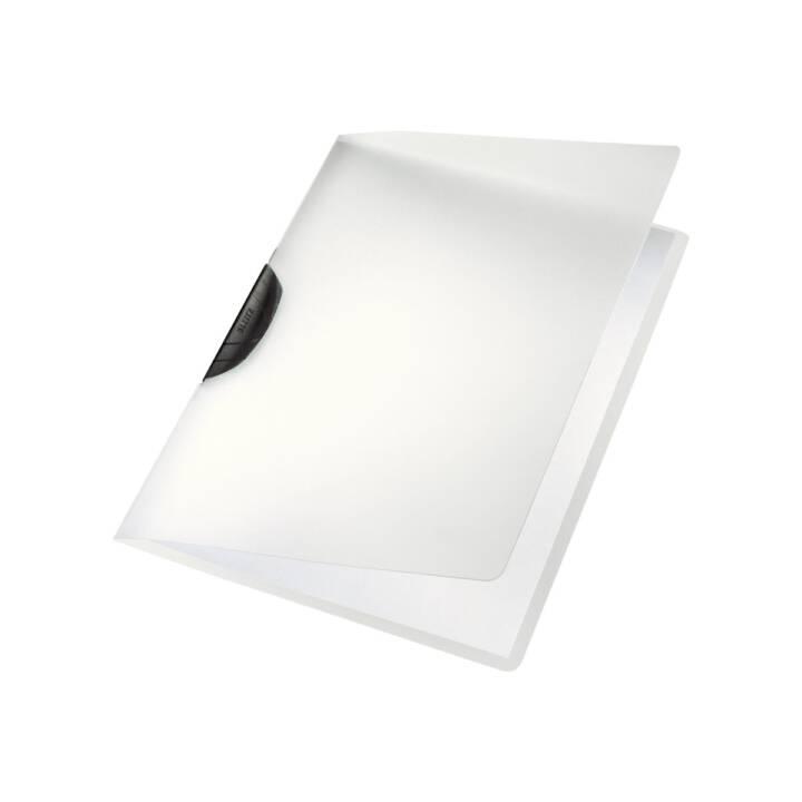 Chemise à clip LEITZ A4 transparente