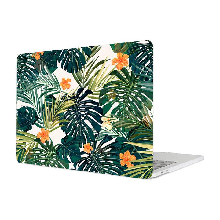 "EG Cover per Macbook Pro 16"" Touchbar (2019) - Piante tropicali"