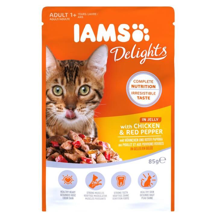 IAMS Delights (Adulto, 85 g, Pollo, Verdura)