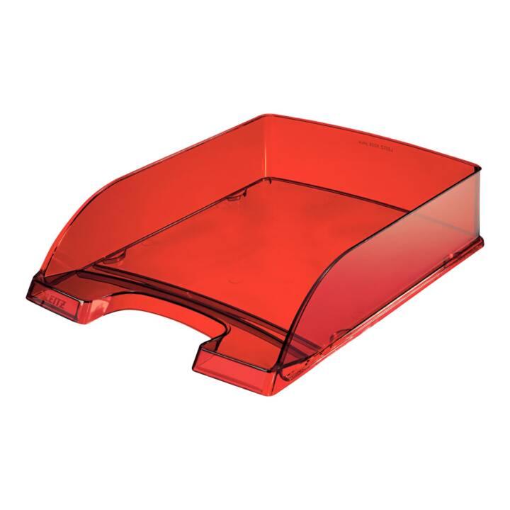 LEITZ Plus Briefkorb, A4, rosso