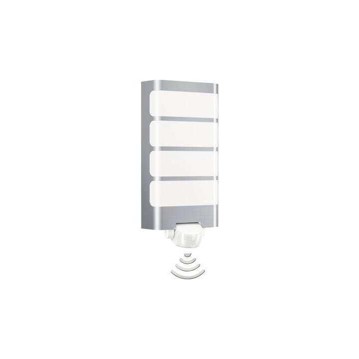 STEINEL L 244 Lampada da parete (7.5 W, Acciaio inox, Bianco)