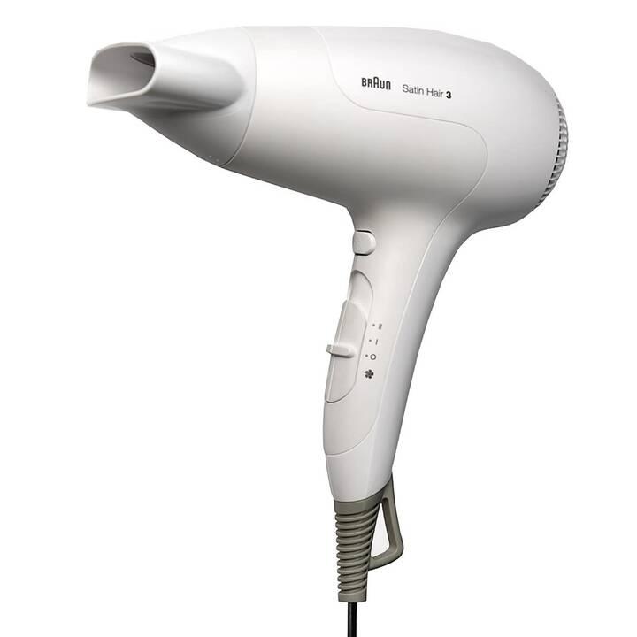 BRAUN Satin Hair 3 HD 385 (2000.0 W, Weiss)
