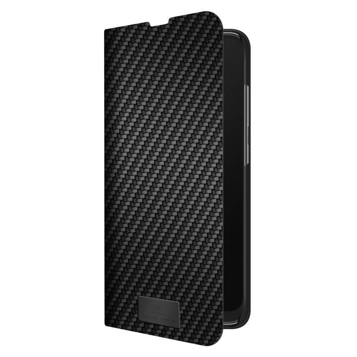 BLACK ROCK Flipcover Flex Carbon (Galaxy A51, Noir)