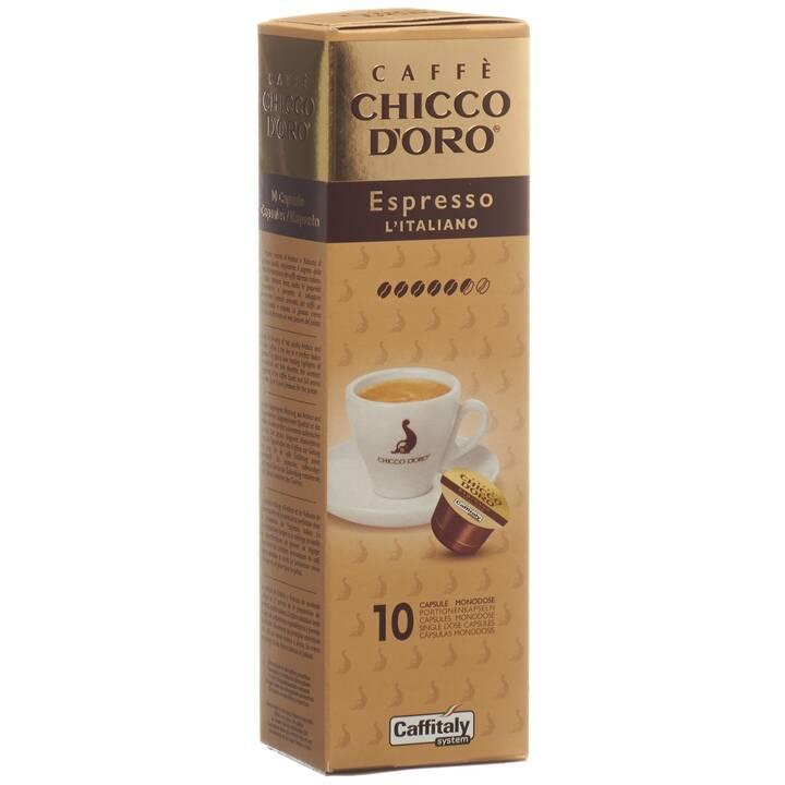 CHICCO D'ORO Capsule di caffè Espresso Italiano  (10 pezzo)