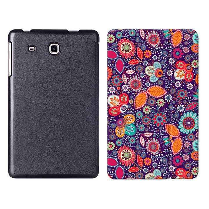 """EG MTT Sacoche à comprimés avec étui Smart pliable pour Samsung Galaxy Tab A6 Tablet 7"""" - Ethnique"""