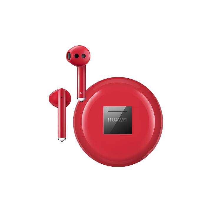 HUAWEI FreeBuds 3 (In-Ear, Bluetooth, Bluetooth 5.1, Rouge)