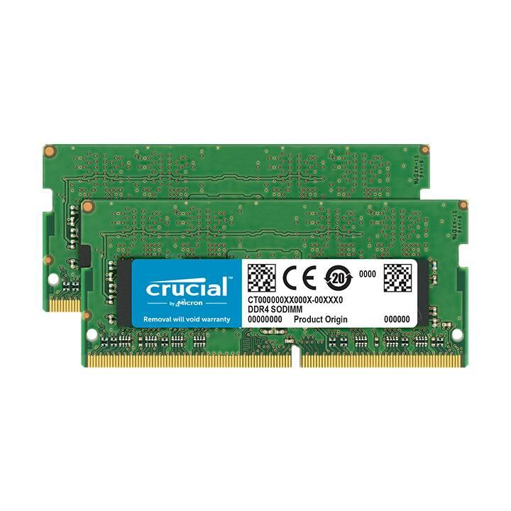 MICRON TECHNOLOGY CT2K4G4SFS6266 (2 x 4 GB, DDR4-2666, SO-DIMM 260-Pin)