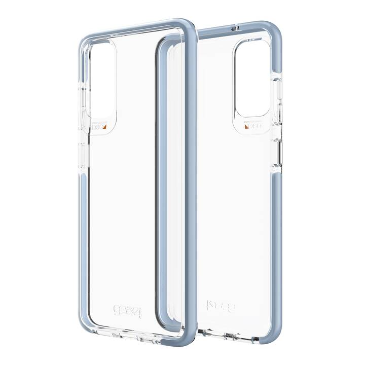 GEAR4 Backcover Piccadily (Galaxy S20, Transparente, Blu)