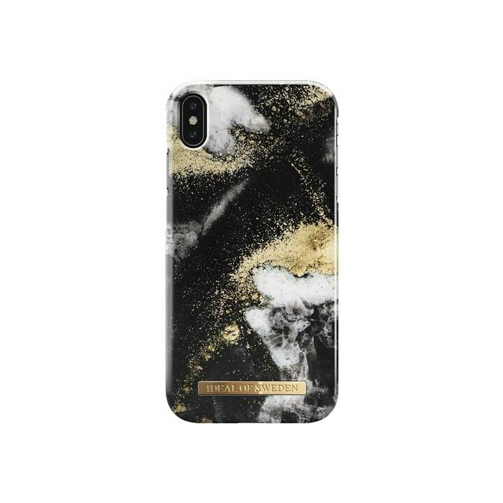 IDEAL OF SWEDEN Backcover Black Galaxy (iPhone XS Max, Mehrfarbig)