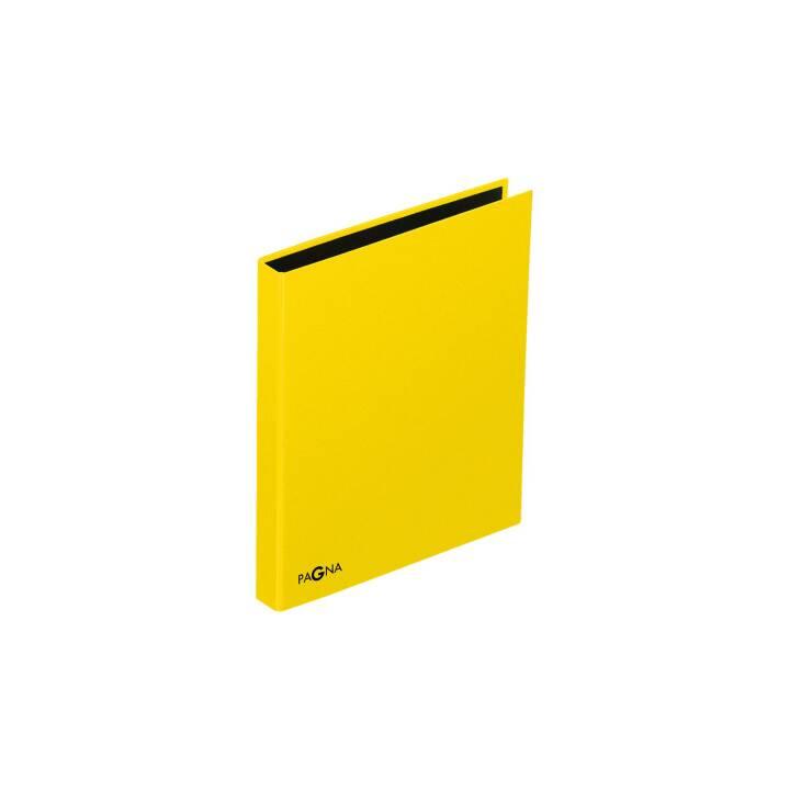 PAGNA Ringbuch A4 gelb