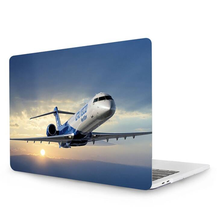 "EG MTT Laptop Cover für Macbook Pro 13"" Touch Bar - Flugzeug"