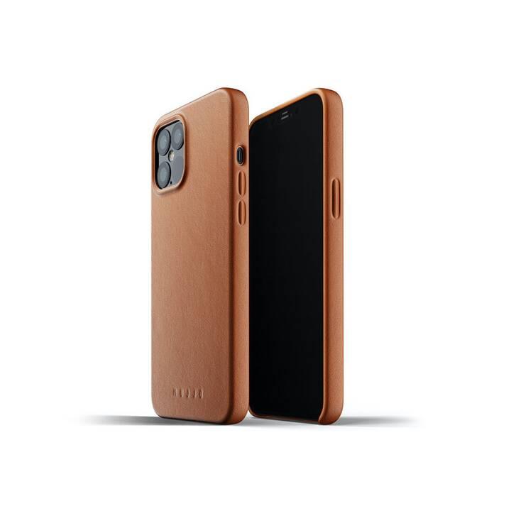 MUJJO Backcover (iPhone 12 Pro Max, Marrone)