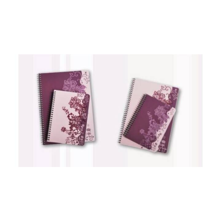 CLAIREFONTAINE Notizbuch Rose