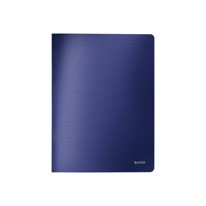 Livret LEITZ PP A4 bleu titan