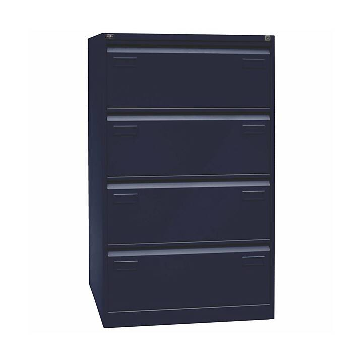 BISLEY Light Schubladenschrank (Blau)