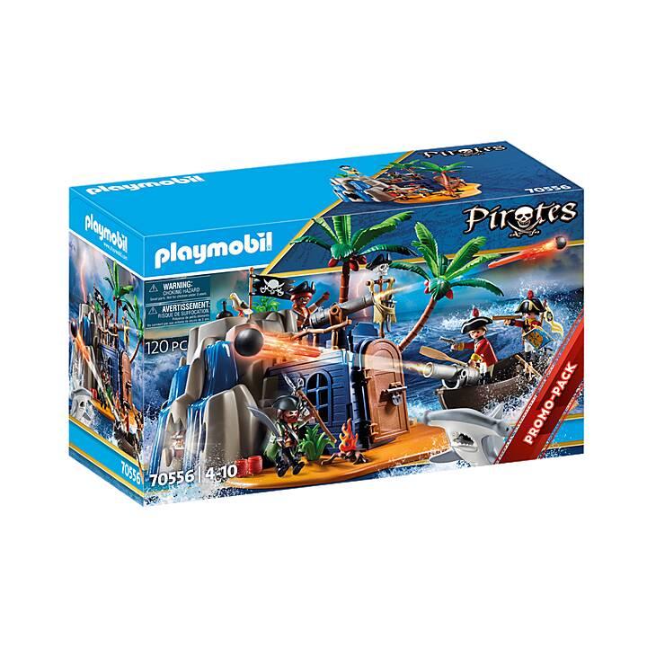 PLAYMOBIL Pirates Pirate Island Hideout (70556)