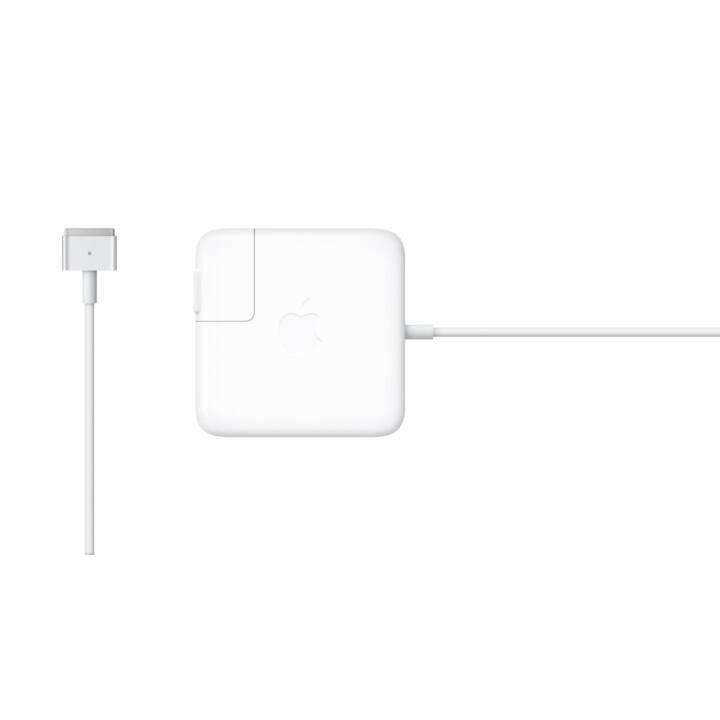 APPLE MagSafe 2, adattatore di potenza 45 Watt, bianco