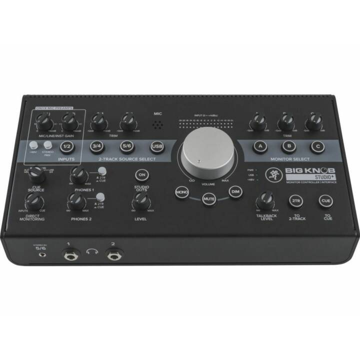 MACKIE Monitorcontroller Big Knob Studio+ (Noir)