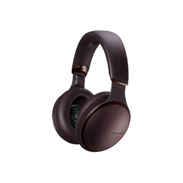 PANASONIC RP-HD605NE-T (Over-Ear, Marrone)