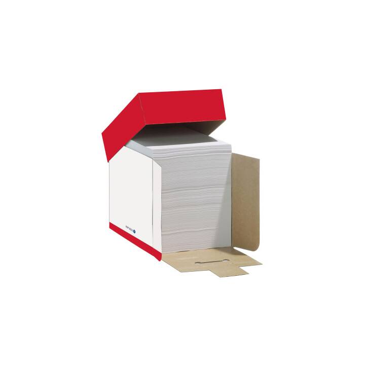 Carta copia PAPYRUS Maxbox A4 80g bianco SB 2500 fogli Maxbox A4 80g bianco SB 2500 fogli