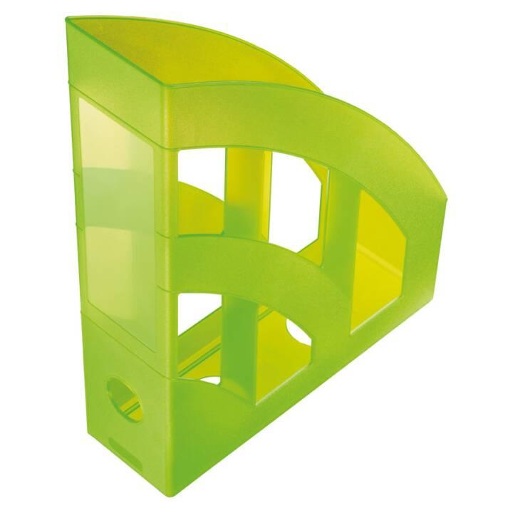 "HELIT ""la torre"" Portariviste DIN A4 - C4, verde"