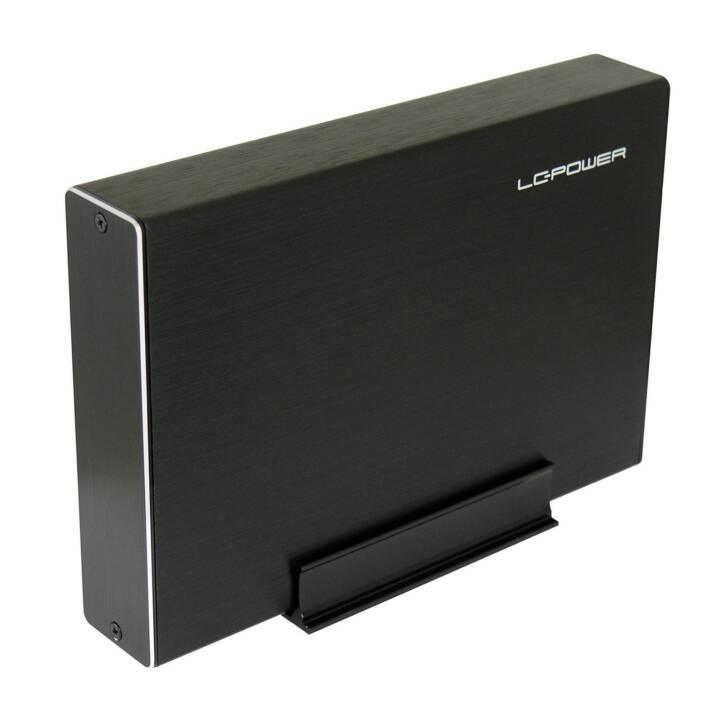"""LC POWER LC-35U3-BECRUX-C1 Disque dur de 3,5"""" noir Boîtier de stockage pour disque dur"""