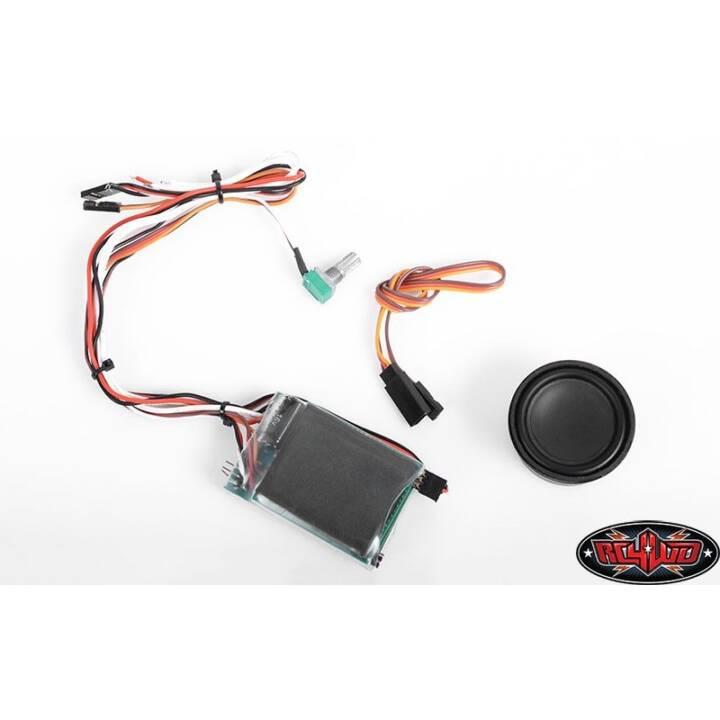 RC4WD Soundmodul Armageddon V8, V6, L6