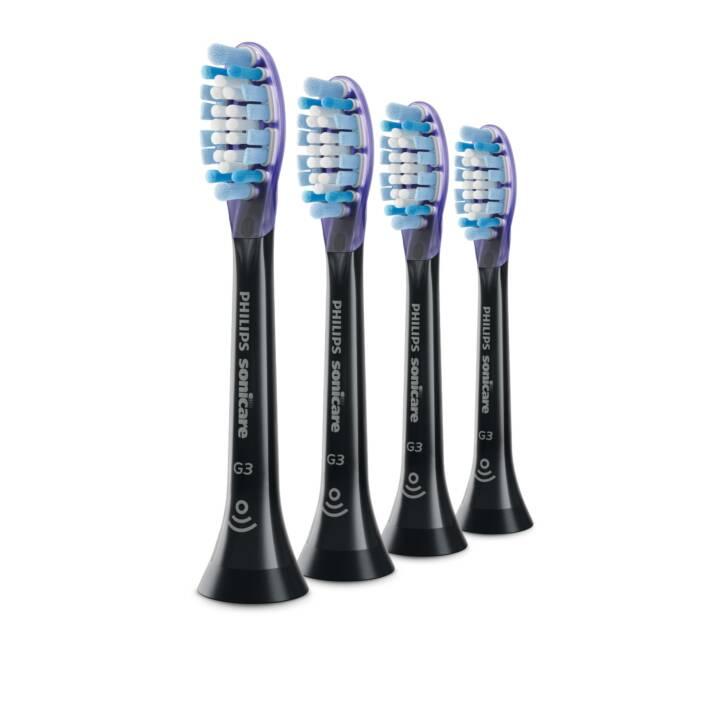 PHILIPS Sonicare G3 Premium G3 Gum Care Spazzole per la cura delle gengive Nero