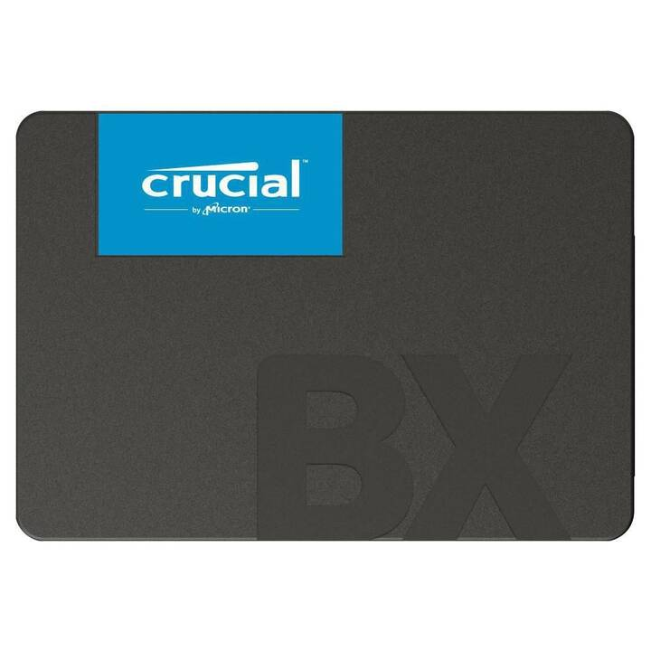 CRUCIAL BX500 (SATA-III, 2000 GB, Noir)