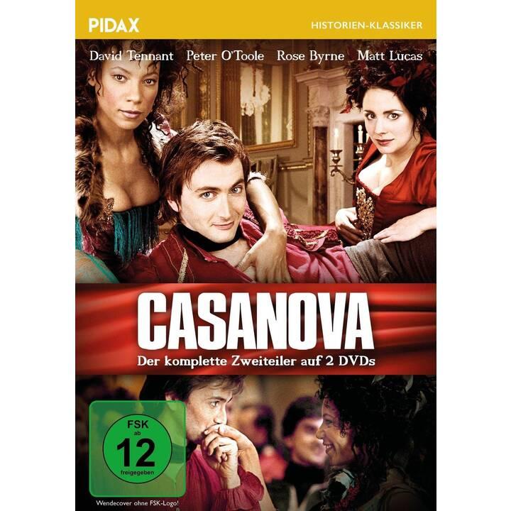 Casanova / Preisgekrönter Zweiteiler mit Starbesetzung (DE, EN)