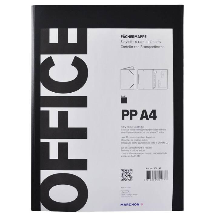 MARCHON OFFICE Dossier d'index (Noir, A4, 1 pièce)