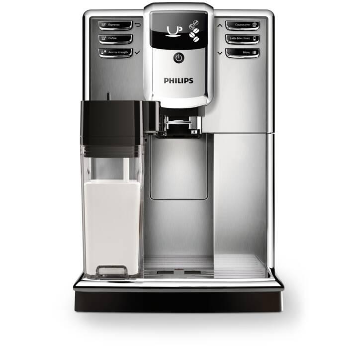 PHILIPS EP5365/10 (Acier inox, Noir, 1.8 l, Machines à café automatique)