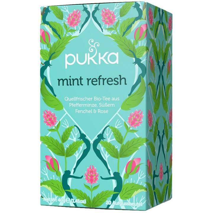 PUKKA Mint Refresh Tè aromatizzato (Bustina di tè, 20 pezzo)