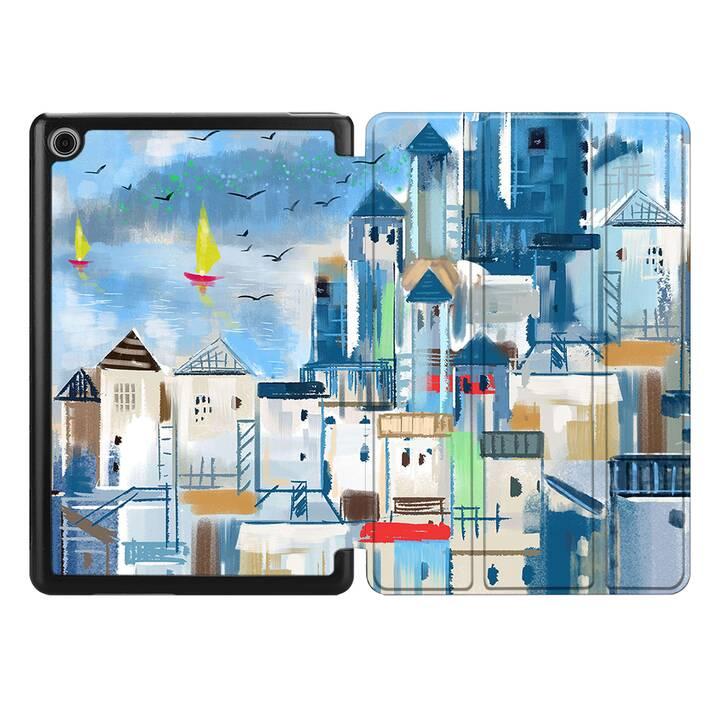 """EG MTT Coque pour HUAWEI MediaPad T5 10.1"""" 2018 - toile de paysage"""