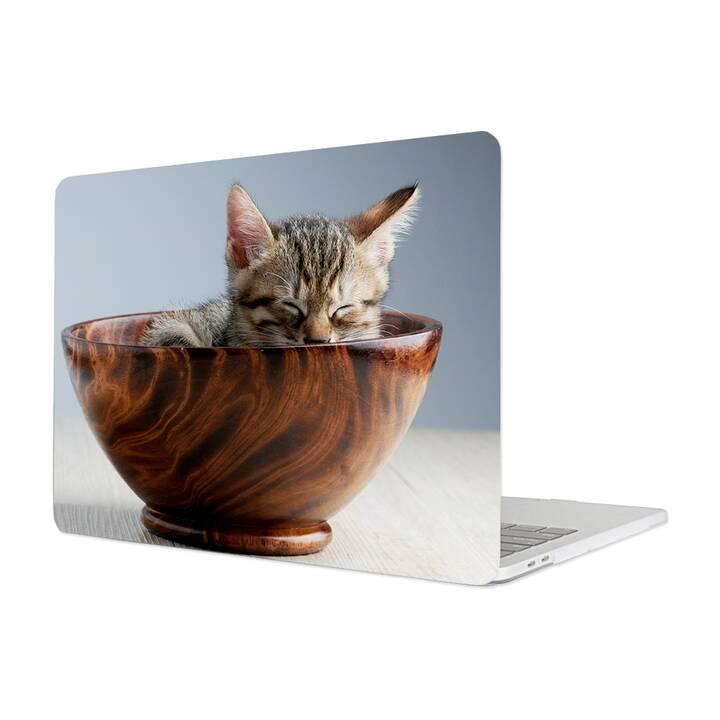"""EG Hülle für Macbook Pro 16"""" Touchbar (2019) - Katzen"""